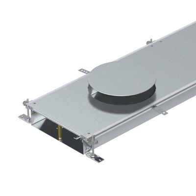 Секция кабельного канала с крышкой для лючка GESR9, высота 100 — 150 мм — арт.: 7424800