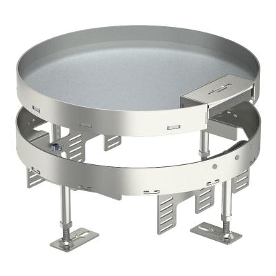Регулируемая кассетная рамка RKSR с кабельным выводом, из нержавеющей стали — арт.: 7409278