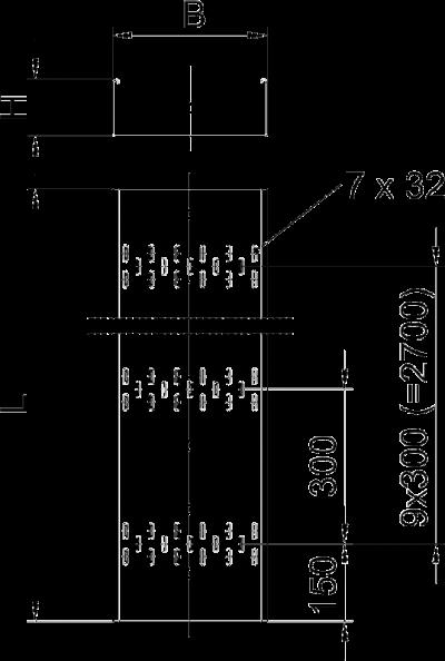 Схема Листовой кабельный лоток BKRS — арт.: 6062000