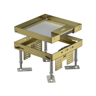 Регулируемая кассетная рамка RKSN с кабельным выводом, из латуни — арт.: 7409202