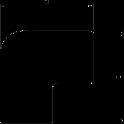 Схема Крышка плоского угла — арт.: 6154212