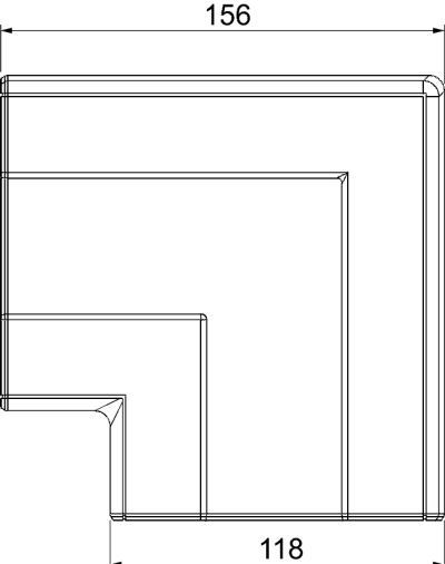 Схема Крышка плоского угла — арт.: 6113094