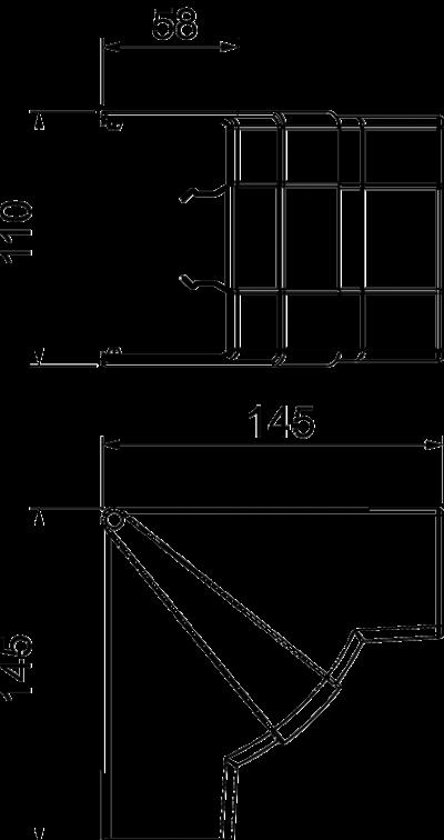 Схема Крышка внутреннего угла — арт.: 6113074