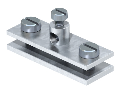 Заземляющая клемма для круглых и плоских проводников — арт.: 5043107