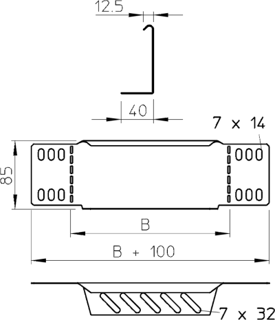 Схема Переходник/концевик — арт.: 7110103