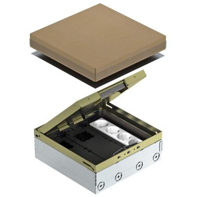 Лючок UDHome9 с монтажной коробкой GB3, укомплектованный, из латуни — арт.: 7427304