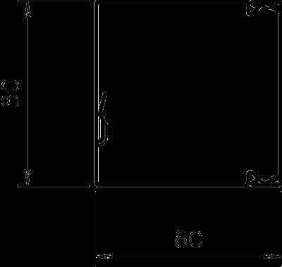 Схема Кабельный короб LKM 80080 — арт.: 6247194