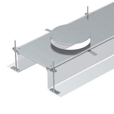 Секция кабельного канала с крышкой для лючка GESR9, высота 40 — 240 мм — арт.: 7424260