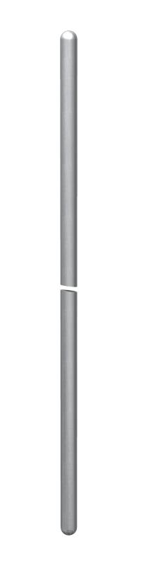 Молниеприемный стержень/стержень заземления, с двусторонне округленным краем — арт.: 5400155