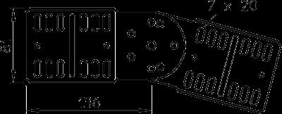 Схема Шарнирный соединитель — арт.: 7082029