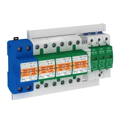 Комплект защиты MCD + V20, с защитой от тока утечки, 3-полюсный + NPE, с дистанционной сигнализацией — арт.: 5089777