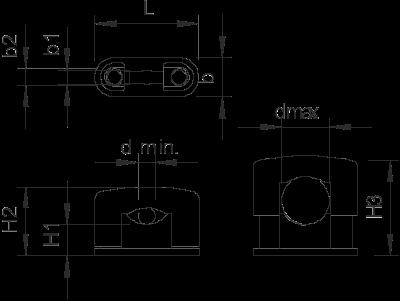 Схема Скоба SOM огнестойкая — арт.: 2124459