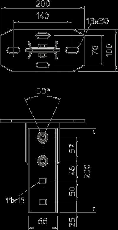 Схема Траверса регулируемая — арт.: 6348106