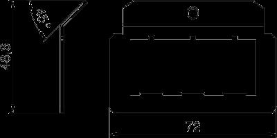 Схема Суппорт для 3х телекоммуникационных модулей типа E — арт.: 7407832