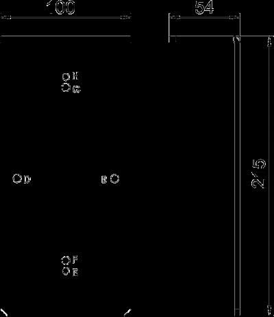 Схема Сверлильный кондуктор для канала для силового кабеля — арт.: 7403881