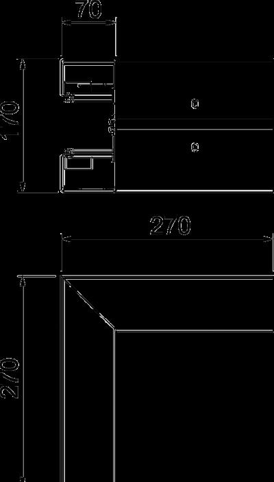 Схема Внешний угол — арт.: 6114320
