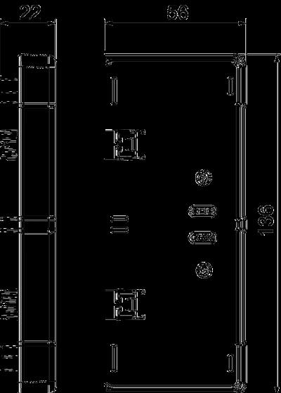 Схема Торцевая заглушка — арт.: 6113280