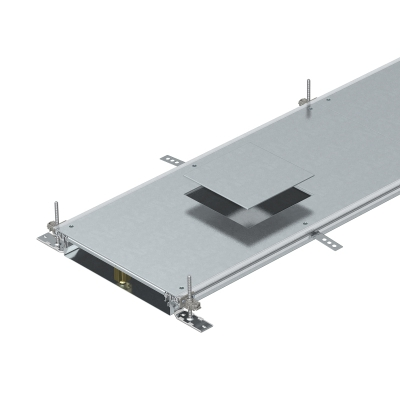 Секция кабельного канала с крышкой для лючка GES4, высота 60 — 110 мм — арт.: 7424600