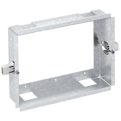 Рамка Modalnet для монтажа в полую стену, для 3х двойных розеток — арт.: 6109952