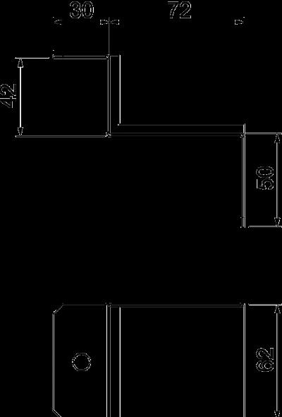 Схема Соединитель для углового монтажа — арт.: 7216512