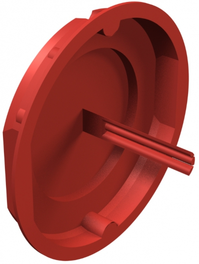 Красная сигнальная крышка 60 мм — арт.: 2003317