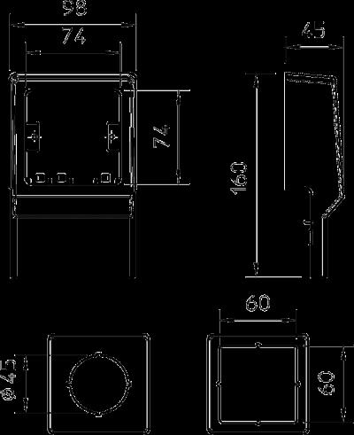 Схема Монтажная рамка — арт.: 6199442