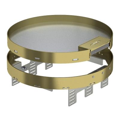 Регулируемая кассетная рамка RKSRNUZD3 с кабельным выводом, из латуни — арт.: 7409302