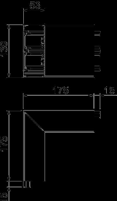 Схема Внешний угол — арт.: 6112513