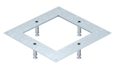 Усиленная монтажная крышка основания 250-3 для квадратных кассетных рамок номинального размера 4 — арт.: 7400418