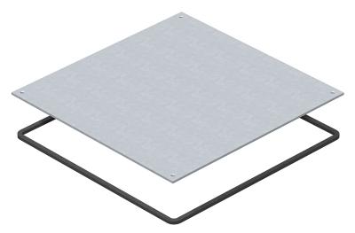 Заглушка влагозащитная для монтажного основания UZD350-3 — арт.: 7400597