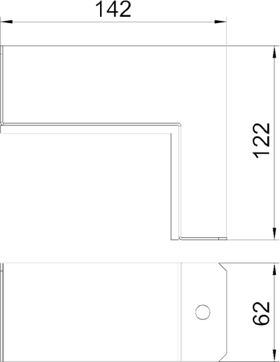 Схема Соединитель для углового монтажа — арт.: 7216312