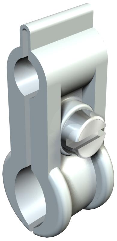 Тросовый зажим для подвеса на трос — арт.: 2305151