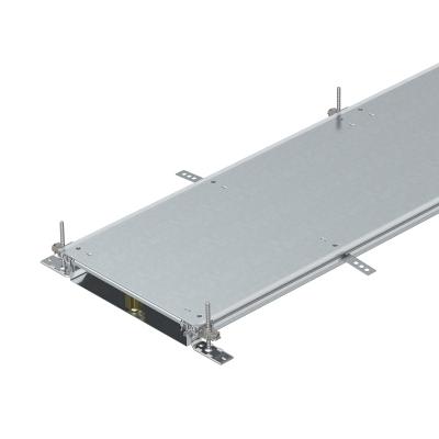 Секция кабельного канала глухая, с фиксаторами, высота 60 — 110 мм — арт.: 7424480