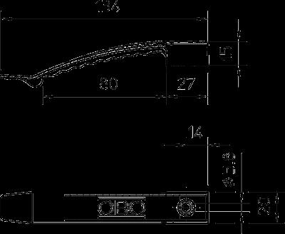 Схема Кабельный зажим для 8 проводов — арт.: 2205017
