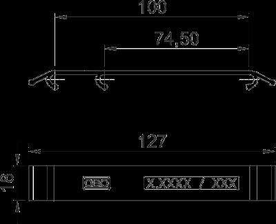 Схема Маркировочная табличка — арт.: 6017714