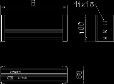 Схема Перекладина CKD 40 — арт.: 6008269