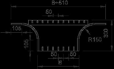 Схема Т-образное/крестовое соединение 400-900 мм — арт.: 7002394