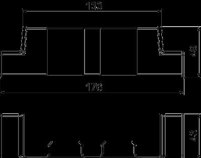Схема Адаптер для Т-образной секции — арт.: 6113480