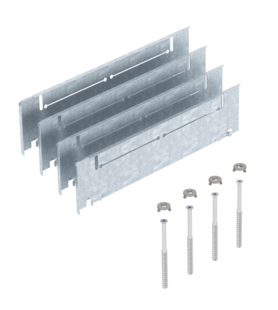 Комплект надставок для увеличения высоты монтажных оснований UZD/UGD250-3 с боковой стенкой высотой 70 — 125 мм — арт.: 7410142