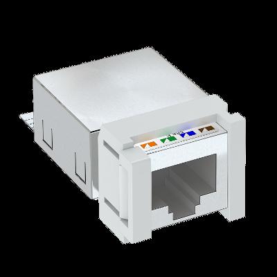 Телекоммуникационный модуль Snap-In CAT 5e, экранированный — арт.: 6117343