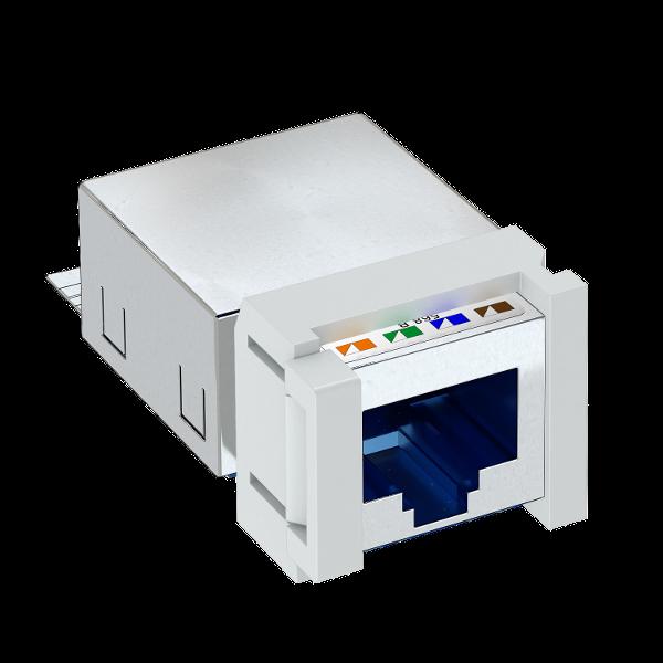 Телекоммуникационный модуль Snap-In CAT 6, экранированный — арт.: 6117345