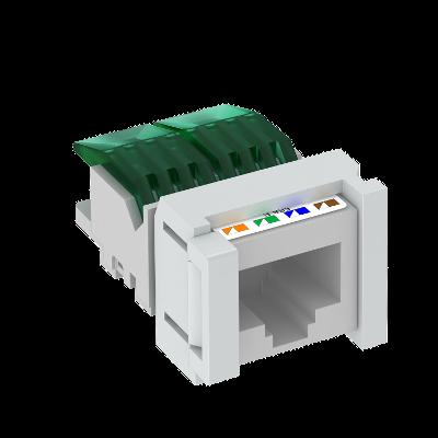 Телекоммуникационный модуль Snap-In CAT 5e, неэкранированный — арт.: 6117347