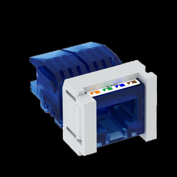 Телекоммуникационный модуль Snap-In CAT 6, неэкранированный — арт.: 6117349
