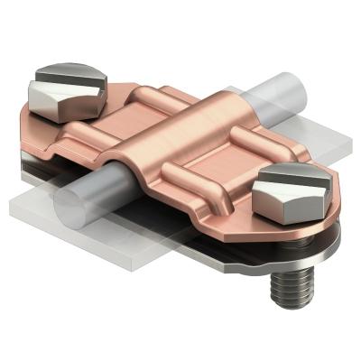 Разделительный зажим для круглых проводников Rd 8-10 и плоских проводников FL 30-40, биметаллический — арт.: 5336503