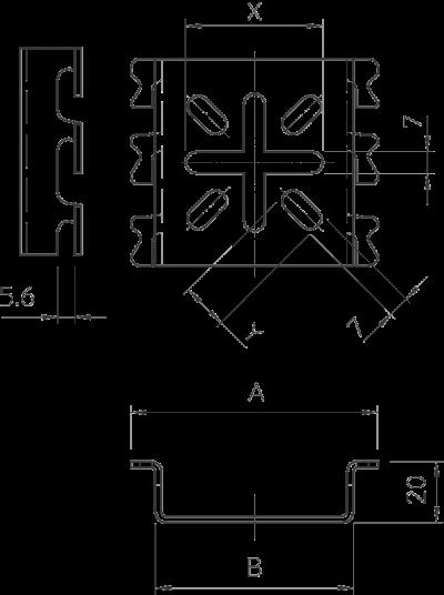 Схема Монтажная пластина — арт.: 6006488