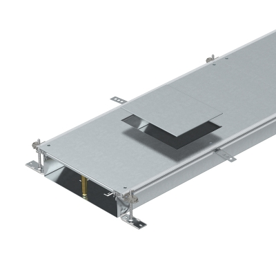 Секция кабельного канала с крышкой для лючка GES6, высота 100 — 150 мм — арт.: 7424682