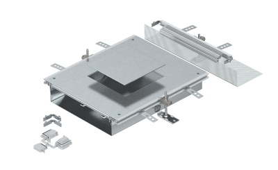 Монтажная секция с крышкой для лючка GES4, высота 60 — 110 мм — арт.: 7424900