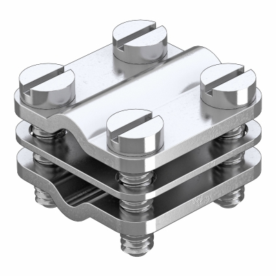Клемма для круглых проводников, для параллельного соединения — арт.: 5064017