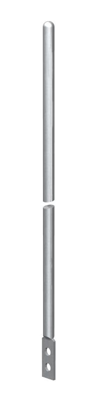 Молниеприемный стержень/стержень заземления, с соединительным выступом — арт.: 5424151