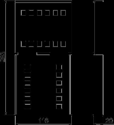 Схема Угловой соединитель — арт.: 6091379